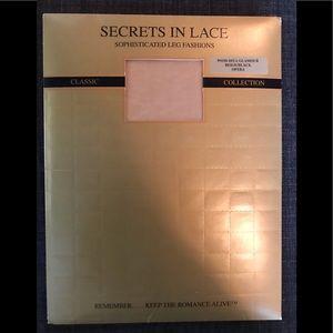 Secrets In Lace